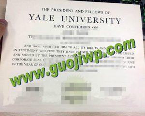 Yale University degree