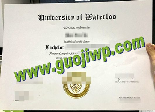 Buy university of Waterloo degree certificate