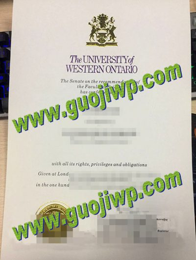 Buy UWO diploma