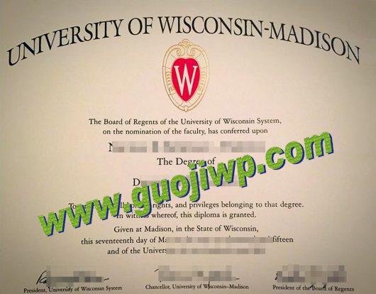Buy university of Wisconsin certificate