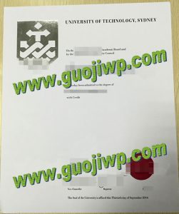 buy UTS degree certificate