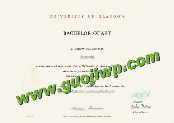 buy University of Glasgow degree