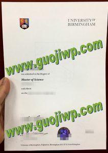 University of Birmingham diploma