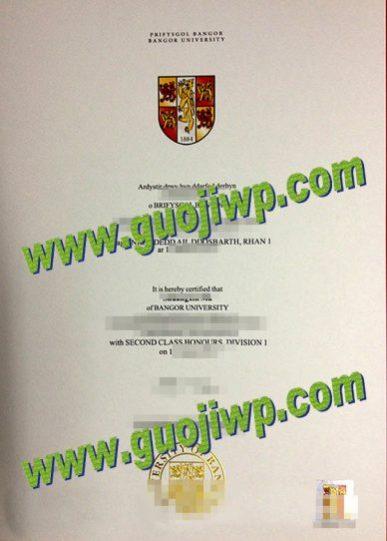 fake Bangor University diploma