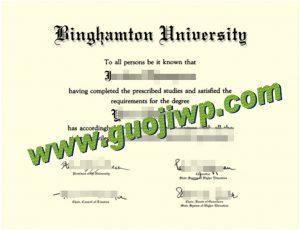 Binghamton University degree