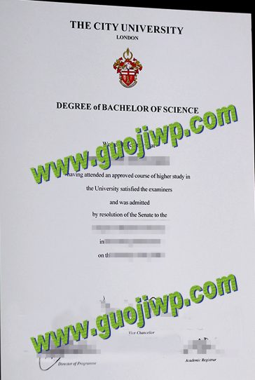 buy City, University of London degree certificate