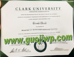 Clark University diploma