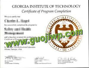 fake GIT degree certificate