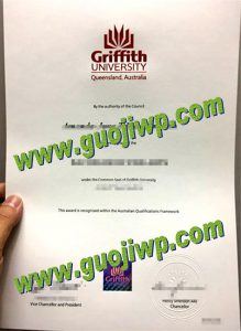 Griffith University degree