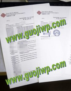 Hong Kong Polytechnic University transcript