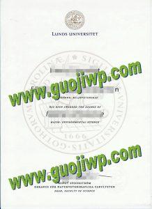 fake Lund University diploma