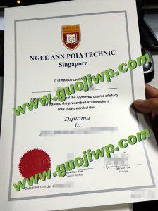 fake Ngee Ann Polytechnic diploma