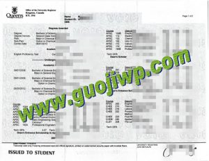 Queen's University fake transcript