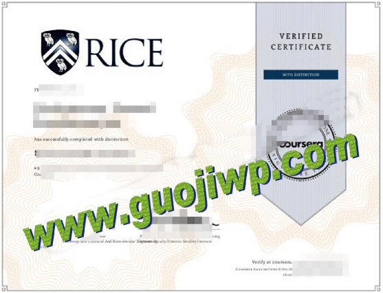 fake Rice University diploma