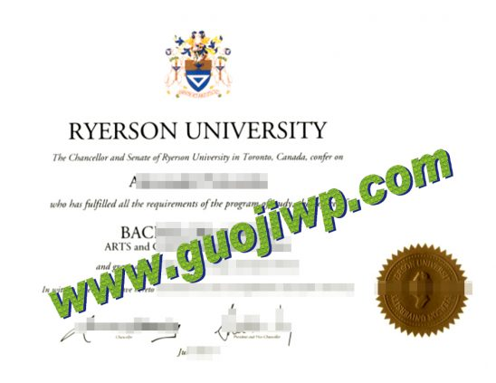 buy Ryerson University diploma