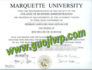 Marquette University degree