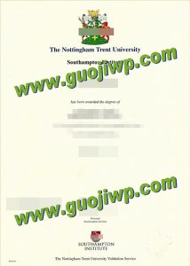 buy fake Nottingham Trent University diploma