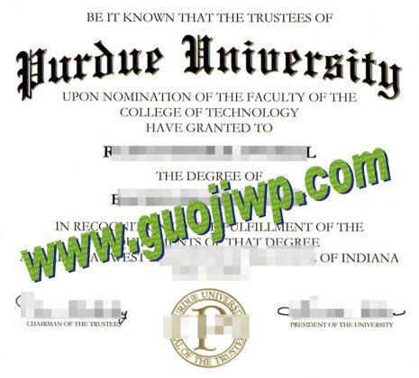 Purdue University fake degree