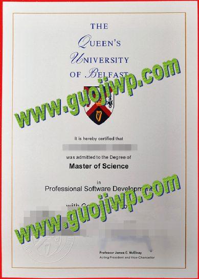 Queen's University Belfast fake degree