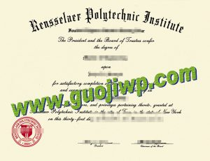 Rensselaer Polytechnic Institute fake diploma