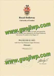 Royal Holloway fake degree