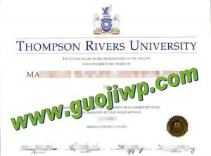 buy Thompson Rivers University degree