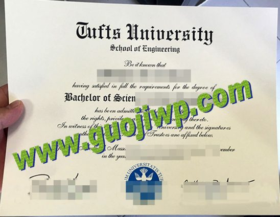 buy Tufts University degree certificate