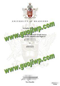 Buy University of Bradford fake diploma, University of Bradford degree certificate
