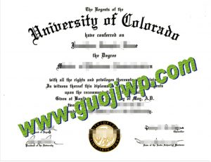 buy University of Colorado Boulder degree