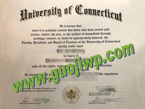 Order fake University of Connecticut diploma, fake degree certificate