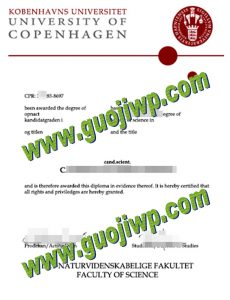 buy University of Copenhagen degree certificate