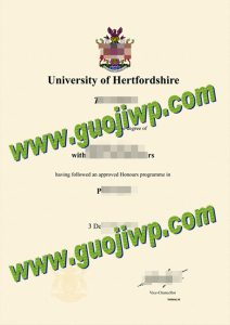 buy University of Hertfordshire degree