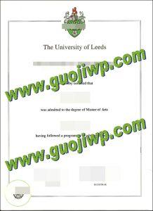 Fake University of Leeds diploma, buy University of Leeds fake degree certificate