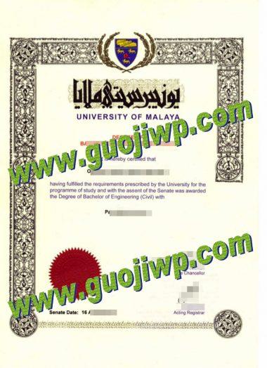 buy University of Malaya fake diploma