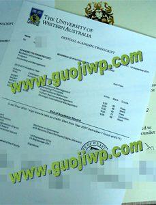 Buy fake UWA transcript