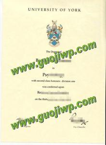 buy University of York diploma