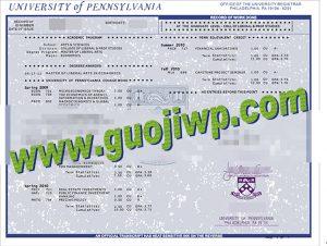 buy University of Pennsylvania certificate