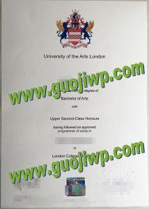fake UAL diploma