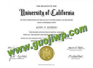 fake UCLA diploma