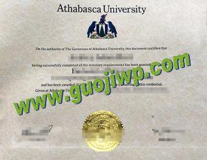 fake Athabasca University degree