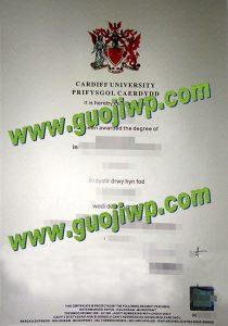 buy Cardiff University diploma