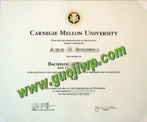 Carnegie Mellon University degree