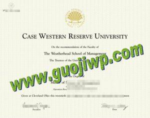 fake CWRU degree certificate
