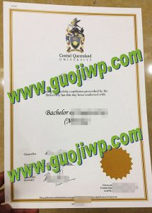 fake Central Queensland University diploma