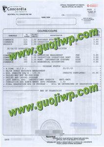 buy Concordia University degree certificate