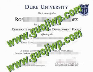 buy Duke University degree