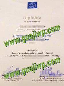 KTH Royal Institute of Technology fake diploma