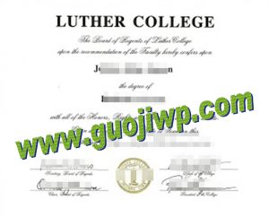 Luther College degree