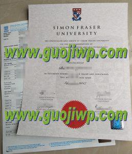 buy Simon Fraser University fake diploma