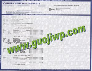 buy Southern Methodist University transcript